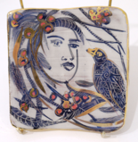 ETAIN HICKEY ~ Auar & Ariel Bird Goddess - Pottery - €140 - SOLD