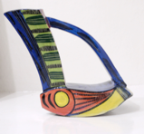 ETAIN HICKEY  & JIM TURNER ~ Sail away II - Pottery - €175