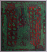 GORDON MOXLEY - Two Towers - acrylic - 53 x 53 cm - €380