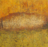 JUNE DURKIN - Autumn - mixed media - 39 x 39 cm - €320