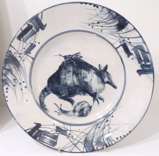 LEDA MAY ~ Armadillo Plate - porcelain - €280