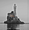 NUALA MAHON ~ Fastnet - photograph on museum etching paper - 38 x 38 cm - SOLD